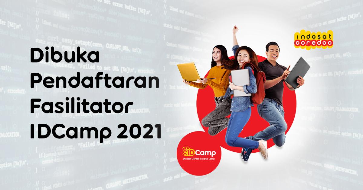 Pendaftaran Fasilitator IDCamp 2021