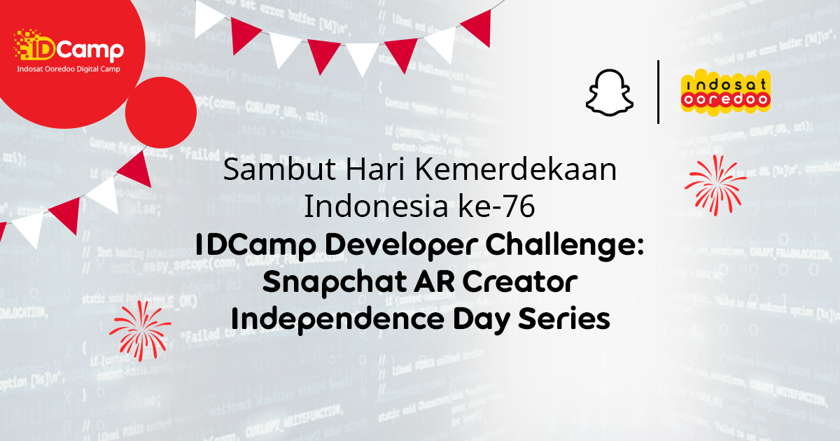 IDCamp Developer Challenge – Snapchat AR Creator Independence Day Series